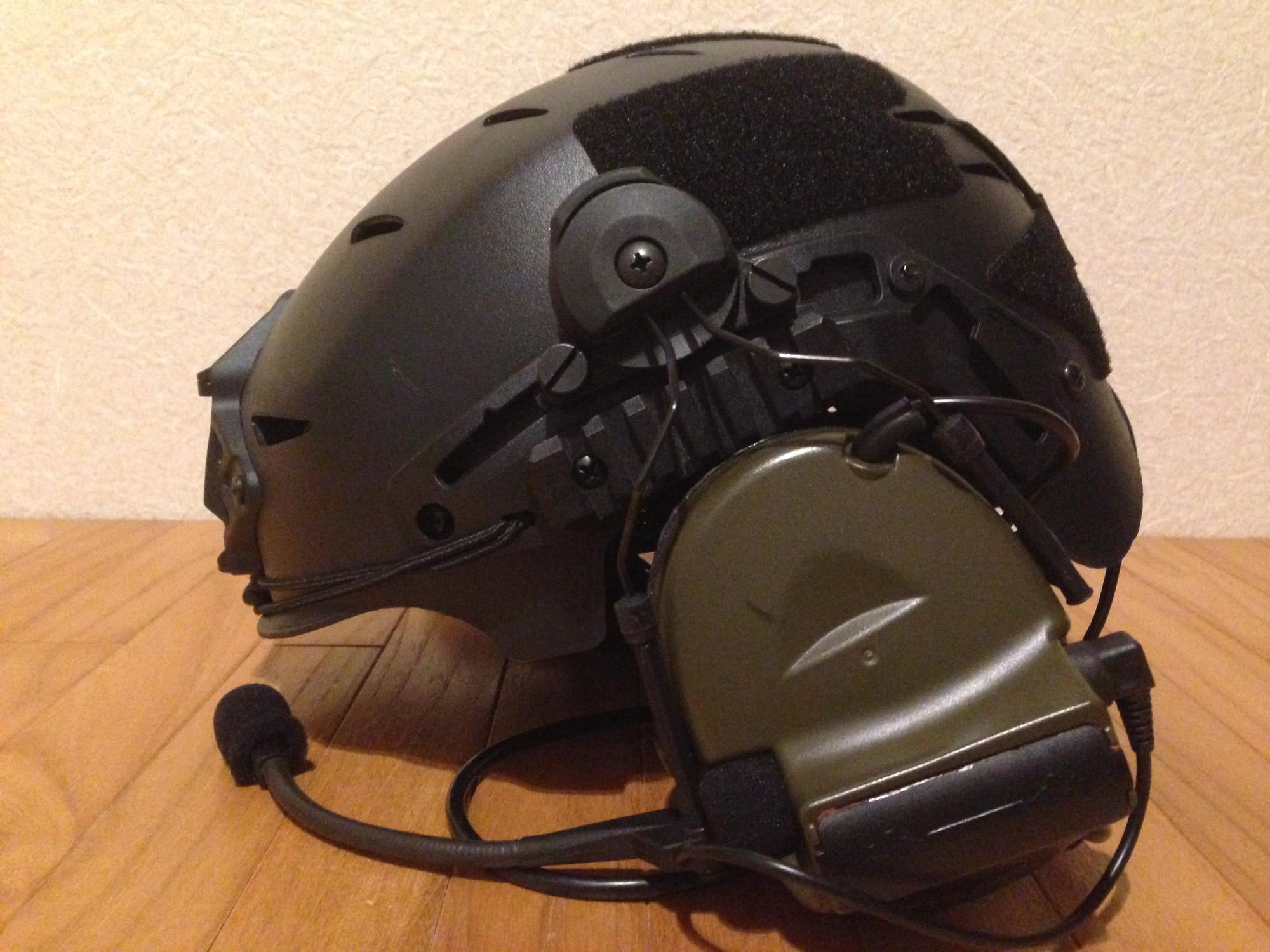 FMA EXFIL タイプ ヘルメット用 ヘッドセットアダプター(comtac2用)