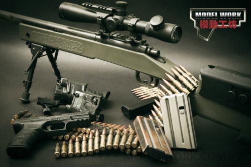 MODEL WORK M40A3 ストック