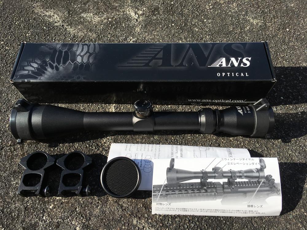 安くてお得なオススメのライフルスコープ ANS Optical 3-9 x 40mm Pro